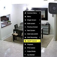Agregar cámara IP a DVR Hikvision