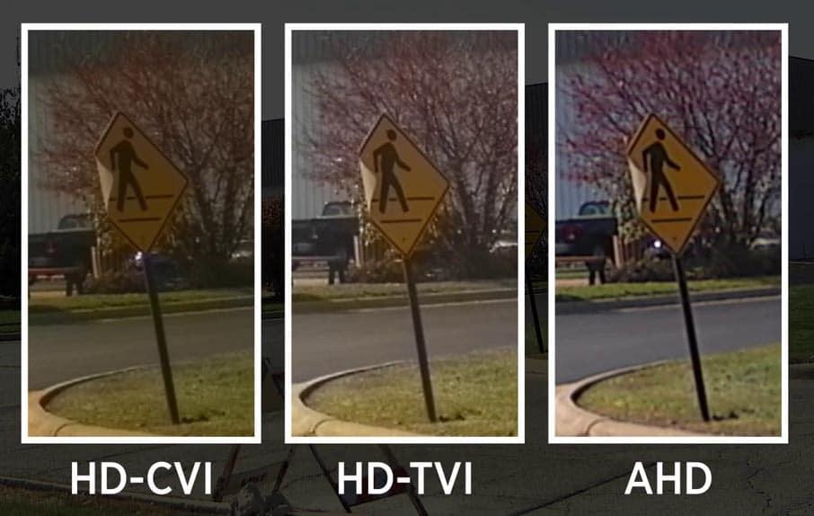 HD-TVI, HD-CVI y AHD