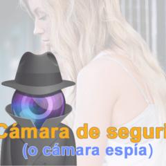 Webcam en cámara Espía