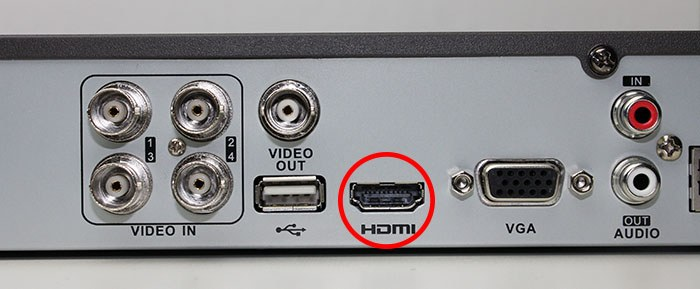 DVR to HDMI connector
