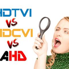 Diferencias entre HD-TVI, HD-CVI y AHD