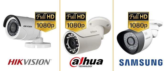 HD-TVI, DH-CVI and AHD cameras