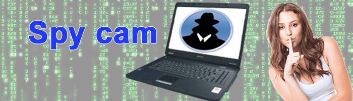 Webcam como cámara espía