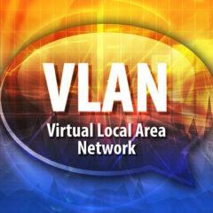 VLAN para CCTV