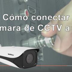 Cómo conectar cámara de CCTV a TV