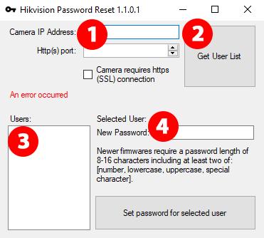 Software para explotación de cámara Hikvision