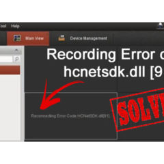 Hikvision-reconnectiong-error-code-91-solucion