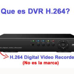 Que es DVR H.264