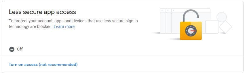 Google Security Config