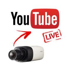 Cámara IP en YouTube