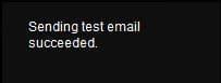 iVMS 4200 Sending test email succeeded