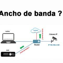 Ancho de banda en cámaras IPs