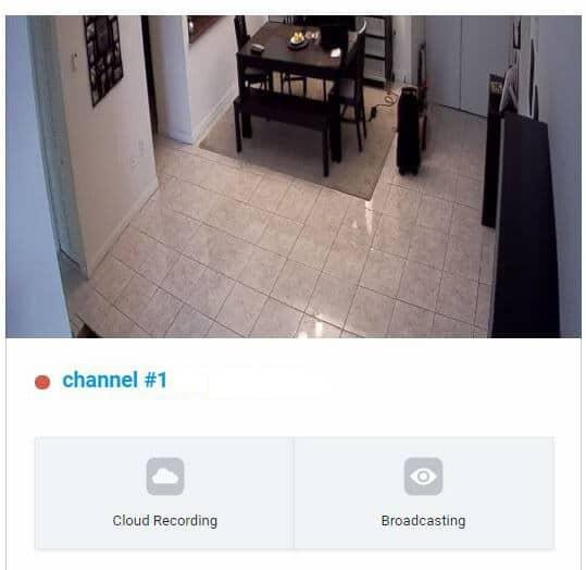 DVR conectado a Angelcam