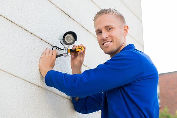 Instalador de cámaras de seguridad
