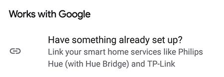 Elija la opción que funciona con Google