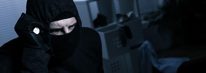 Ladrón en la casa