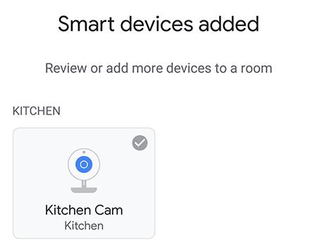 Verificar si el dispositivo está agregado