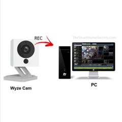 Cómo gravar la Wyze Cam en una PC