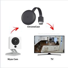 Cómo conectar Wyze Cam a Chromecast