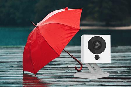 ¿La cámara Wyze es resistente al agua?