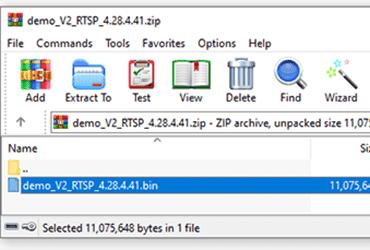 Descomprime el archivo