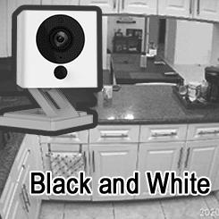 Wyze Cam Blanco y Negro