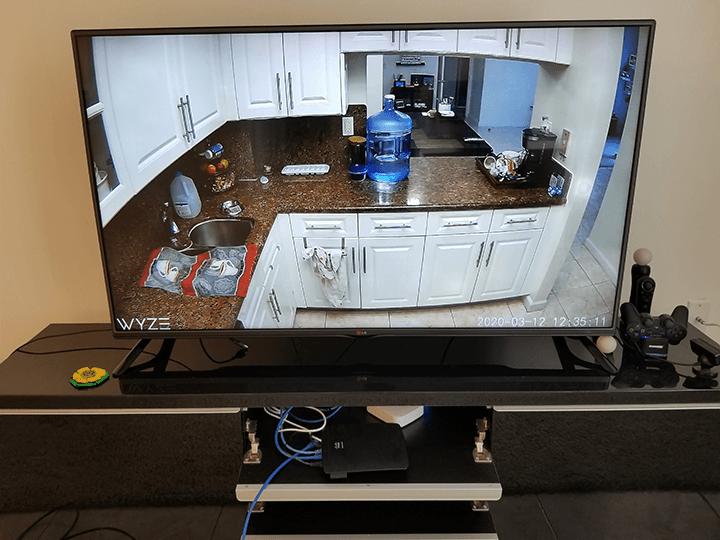 Wyze Cam en Chromecast