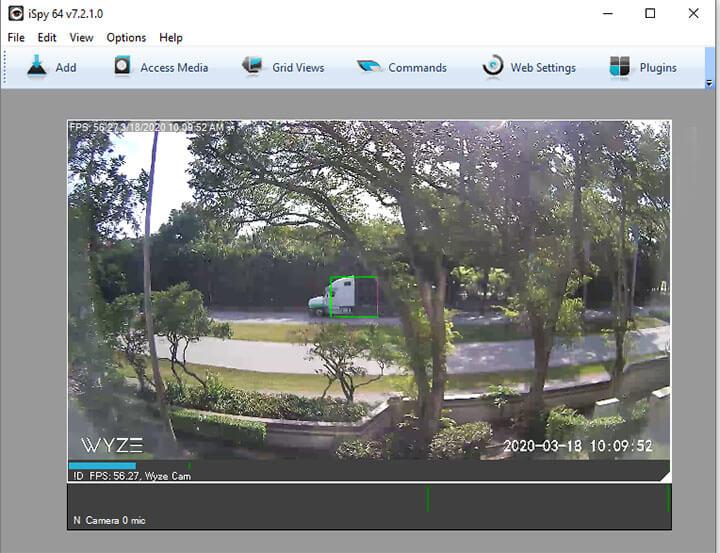 Wyze Camera en iSPY