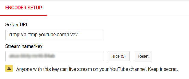 YouTube Encoder