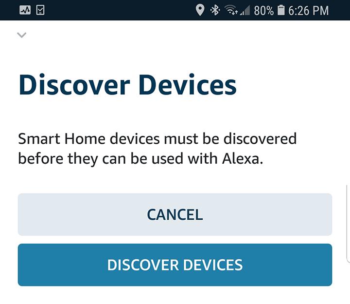 Descubrir los dispositivos en la red