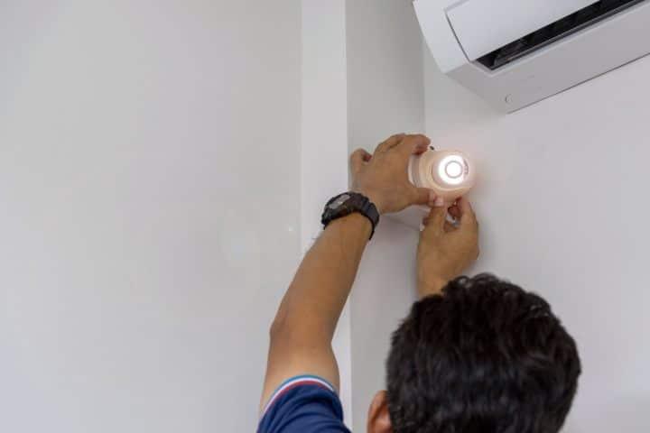 Instalando cámaras de seguridad