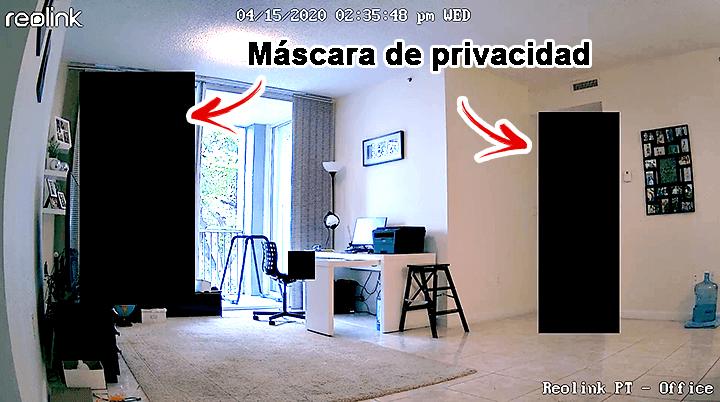Reolink Argus PT Mascara de privacidad