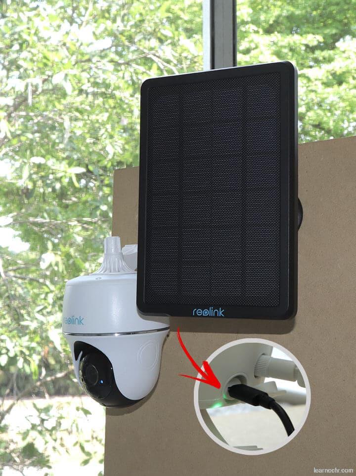 Reolink Argus PT con Panel Solar