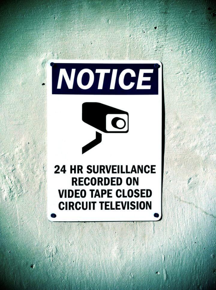 cámara de seguridad pueden ser una invasión de privacidad