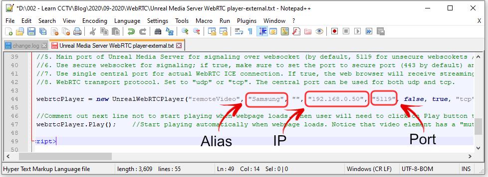 Unteal Media Server HTML