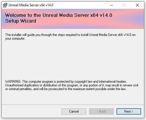 Unteal Media Server - Instalación 01