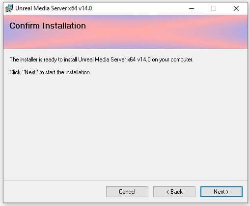 Unteal Media Server - Instalación 04