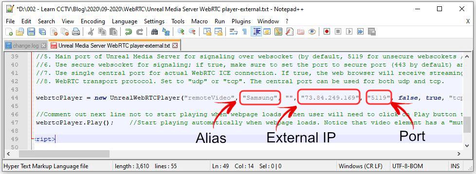 Unteal Media Server - HTML
