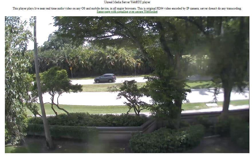 WebRTC - Video de la cámara