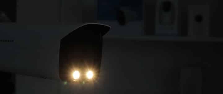 Luces de la cámara Amcrest