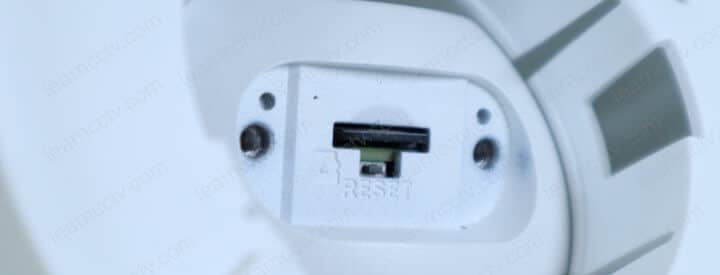 Amcrest ProHD Outdoor Micro SD Card Slot