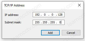 Computer ID Address for TFTP communication