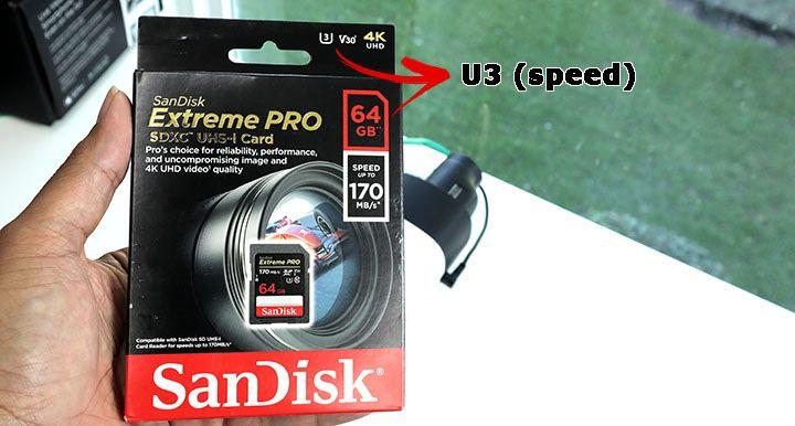 Micro SD card for Security Cameras