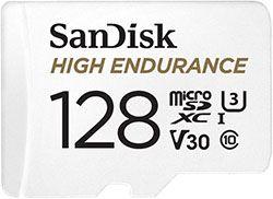 Sandisk High Endurance 128GB