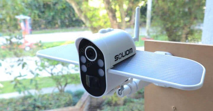 Soliom Camera S100 installed Outdoor