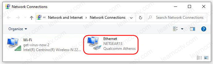 Windows Network Connections