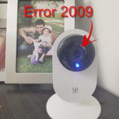 Yi-Home-Camera-Xiaomi-Error-2009