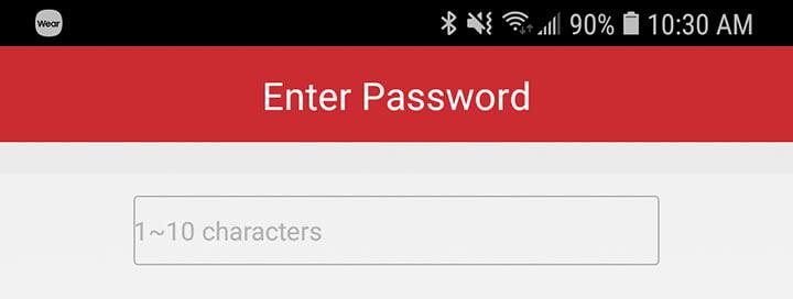iVMS-4500 Default Password