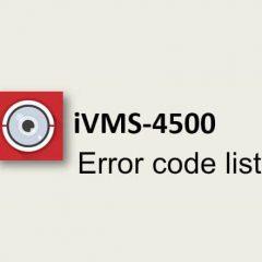 iVMS-4500-error-code-list1