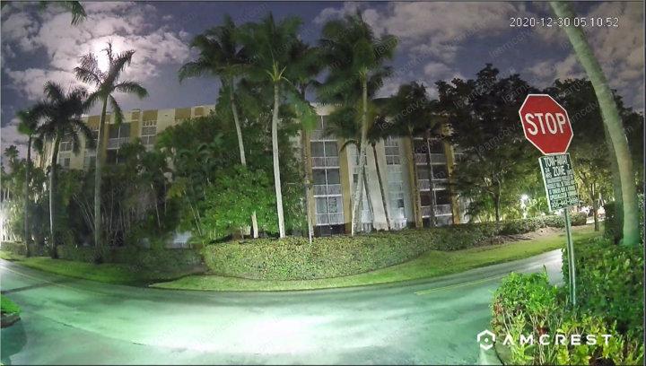Amcrest Camera Outdoor Night